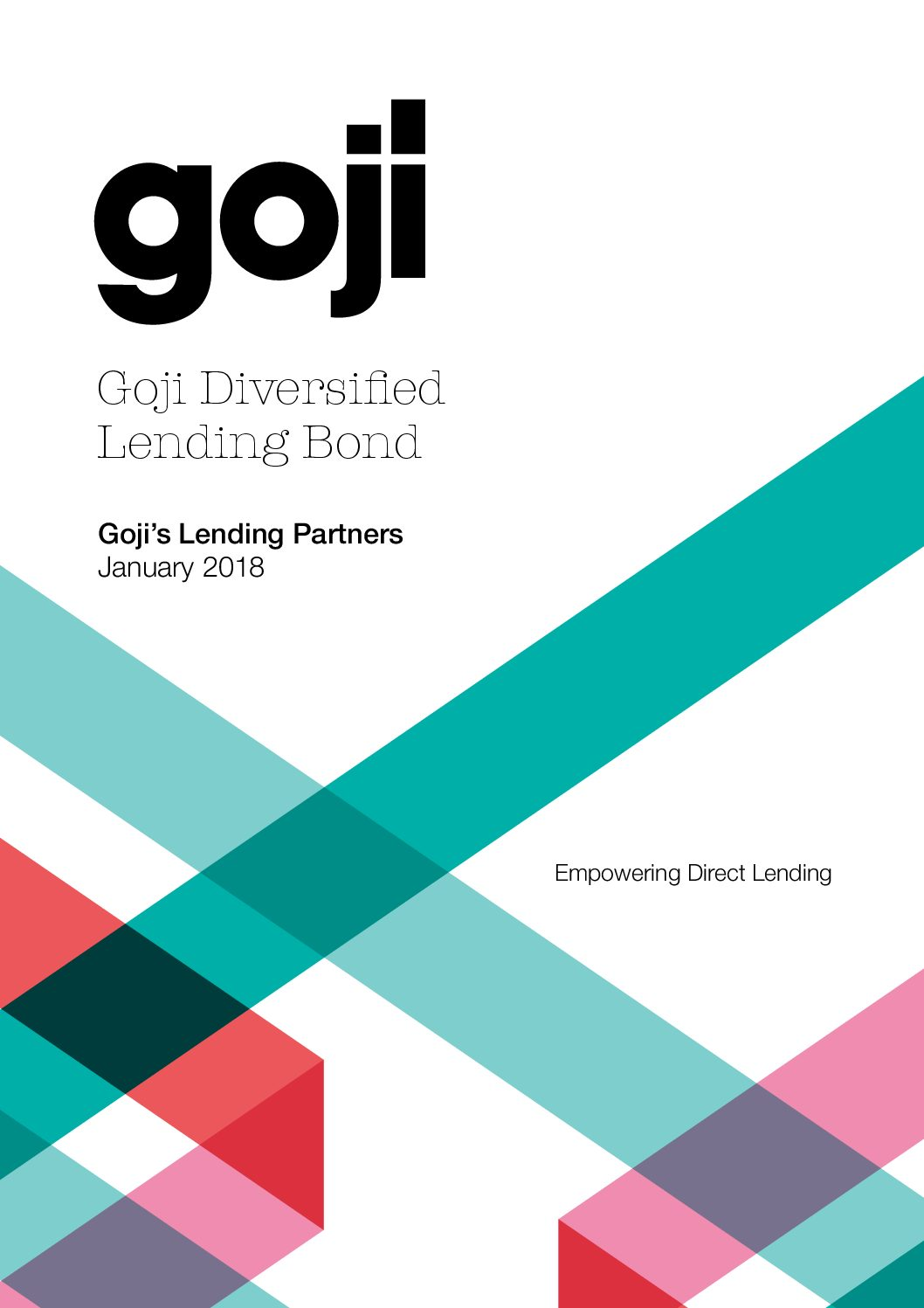 Goji's lending partners-Goji Direct Lending Investment Experts